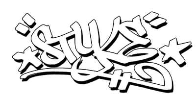 Graffiti Style Tattoo Outlines