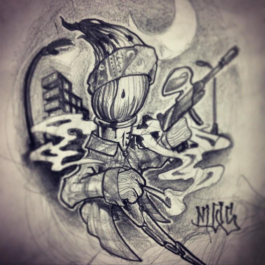 graffiti tattoos graff style lettering designs